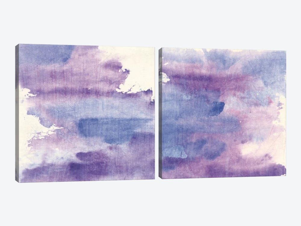 Purple Haze Diptych by Chris Paschke 2-piece Art Print