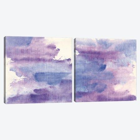 Purple Haze Diptych Canvas Print Set #WAC2HSET163} by Chris Paschke Canvas Art Print