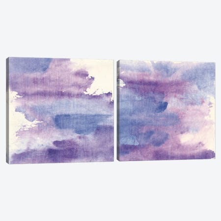 Purple Haze Diptych Canvas Print Set #WAC2HSET163} by Chris Paschke Canvas Art Print