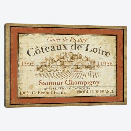 French Wine Labels II  Canvas Print #WAC307} by Daphne Brissonnet Canvas Art