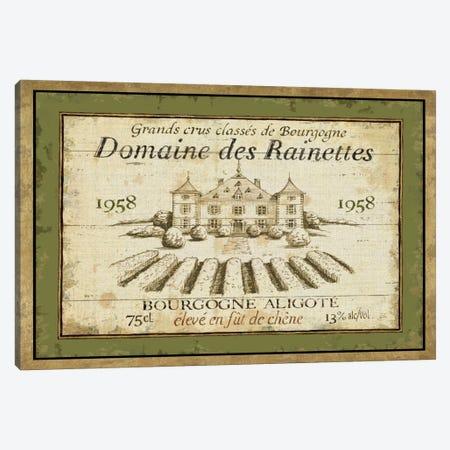 French Wine Label III  Canvas Print #WAC308} by Daphne Brissonnet Art Print