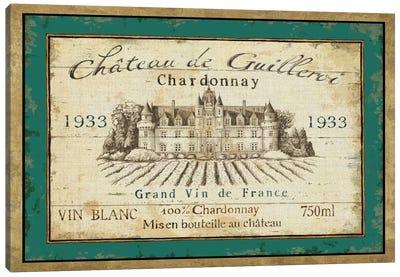 French Wine Label IV  Canvas Art Print