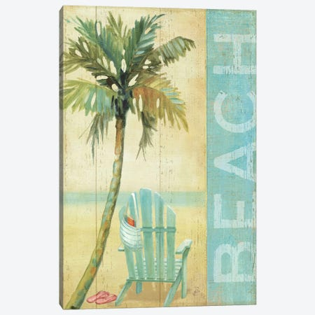 Ocean Beach I Canvas Print #WAC310} by Daphne Brissonnet Canvas Wall Art