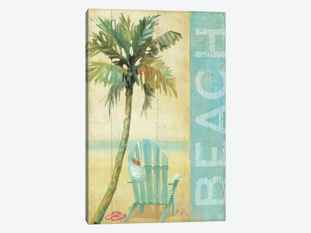 Ocean Beach I by Daphne Brissonnet 1-piece Canvas Print