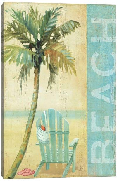 Ocean Beach I Canvas Art Print
