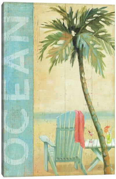 Ocean Beach II Canvas Print #WAC311