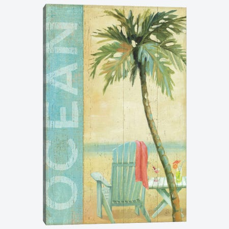 Ocean Beach II Canvas Print #WAC311} by Daphne Brissonnet Canvas Art
