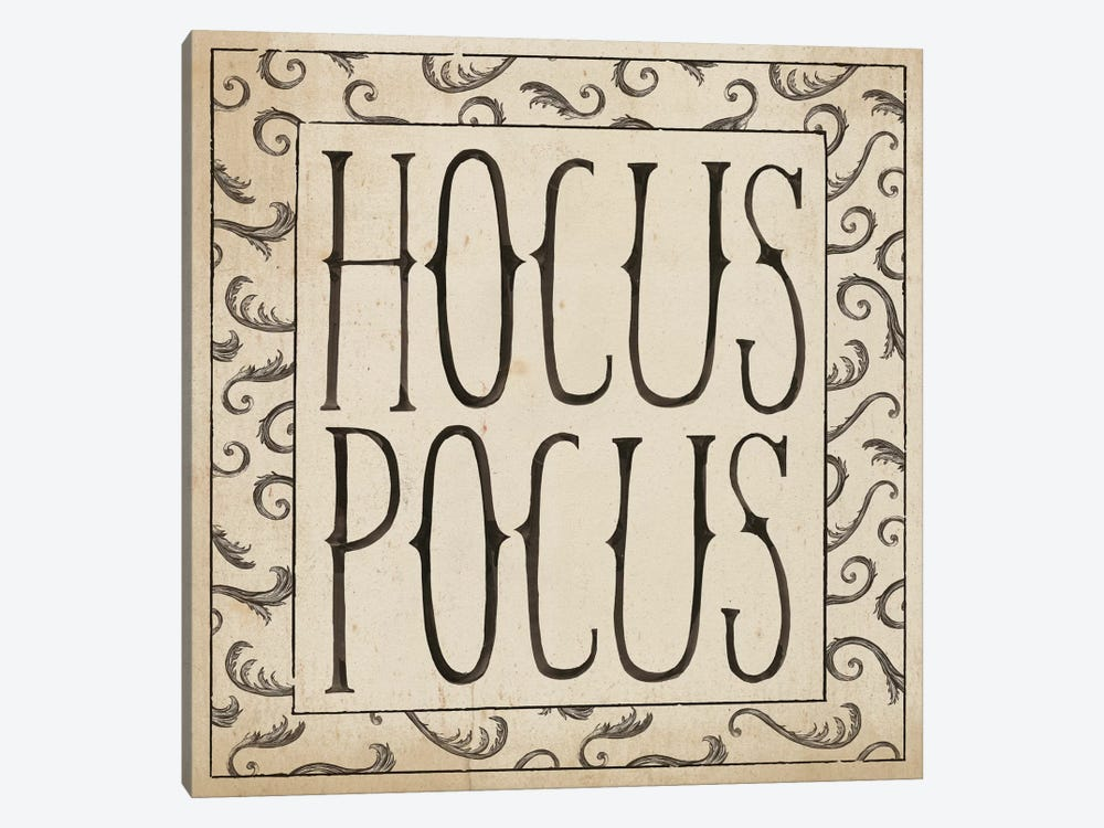 Hocus Pocus Square II by Sara Zieve Miller 1-piece Canvas Art Print