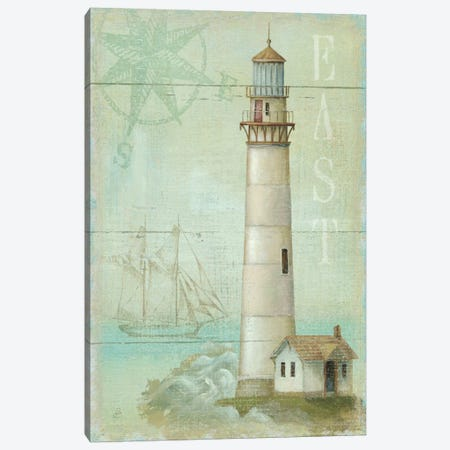 East Coastal Light Canvas Print #WAC312} by Daphne Brissonnet Canvas Wall Art