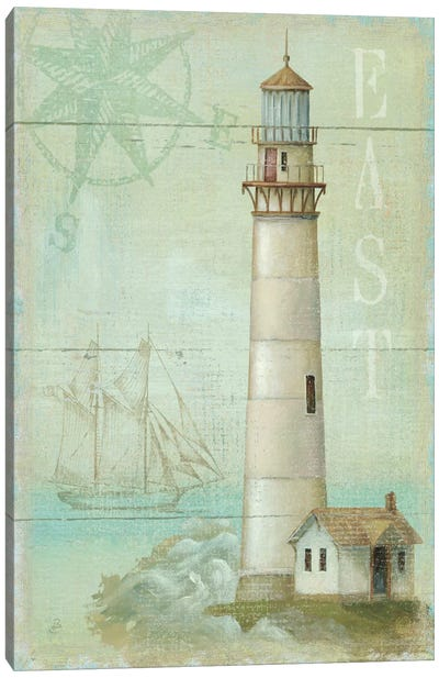 East Coastal Light Canvas Art Print