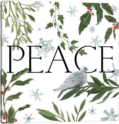 Peace And Joy I Canvas Art Print
