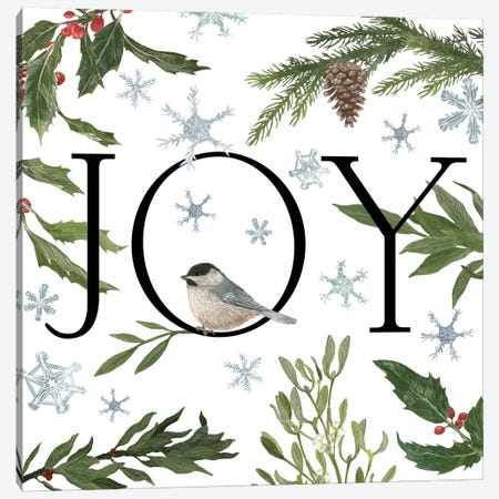 Peace And Joy II Canvas Print #WAC3142} by Sara Zieve Miller Art Print