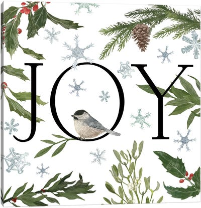 Peace And Joy II Canvas Art Print