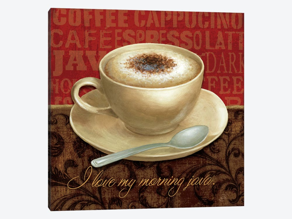 Coffee Talk I by Daphne Brissonnet 1-piece Canvas Art Print