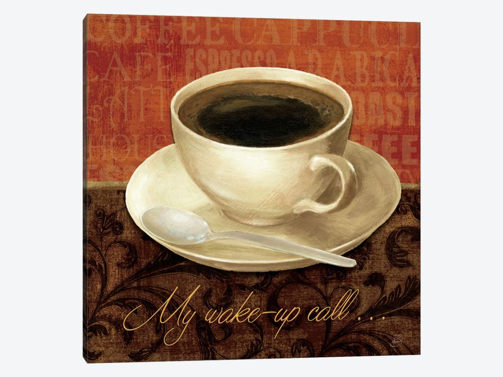 Coffee Talk II by Daphne Brissonnet 1-piece Canvas Art