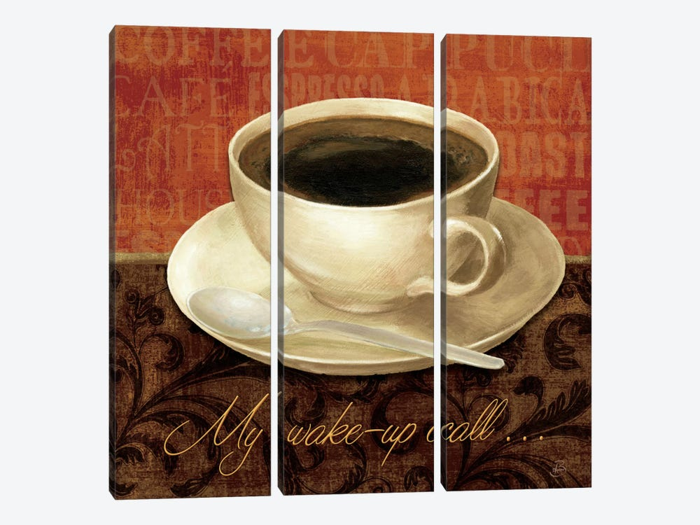 Coffee Talk II by Daphne Brissonnet 3-piece Canvas Art