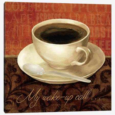 Coffee Talk II Canvas Print #WAC315} by Daphne Brissonnet Art Print