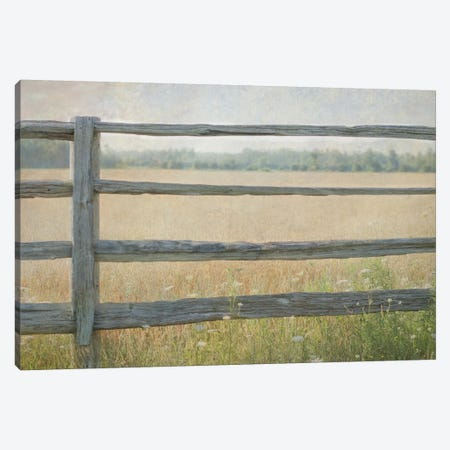 Edge of the Field Canvas Print #WAC3172} by Elizabeth Urquhart Canvas Art
