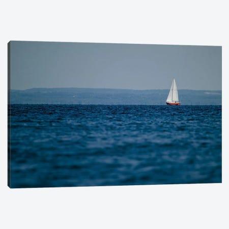 Blue Lake III Canvas Print #WAC3193} by Elizabeth Urquhart Canvas Artwork