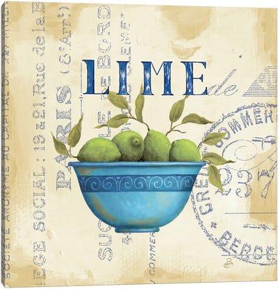 Zest of Limes Canvas Art Print