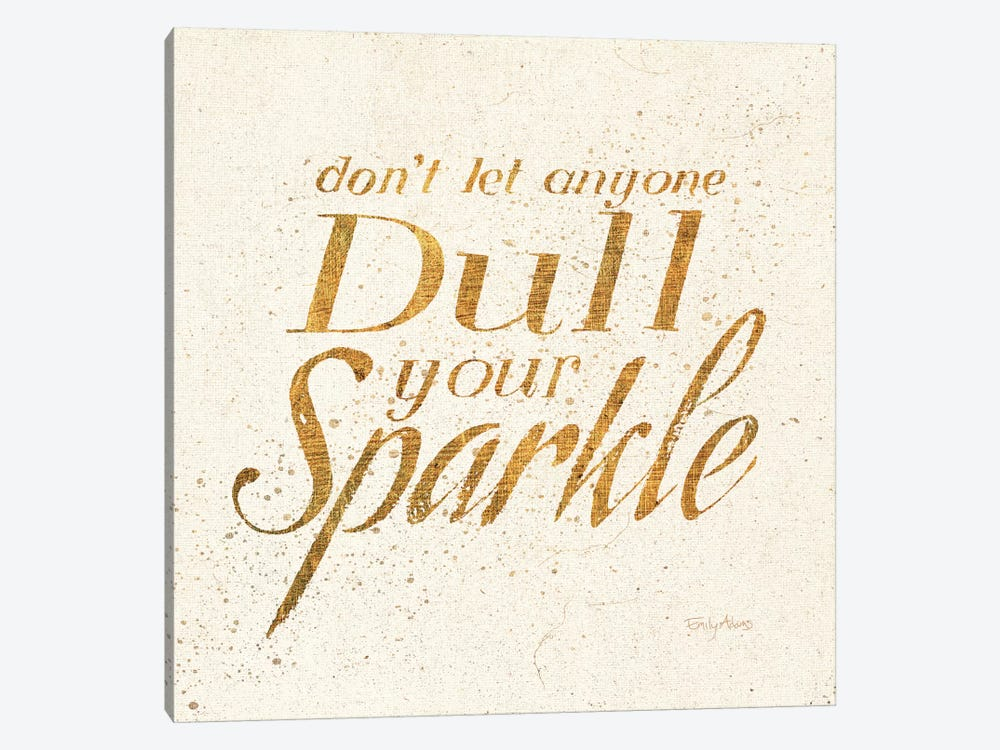 Shoe Fetish Quotes VI Light by All That Glitters 1-piece Canvas Artwork