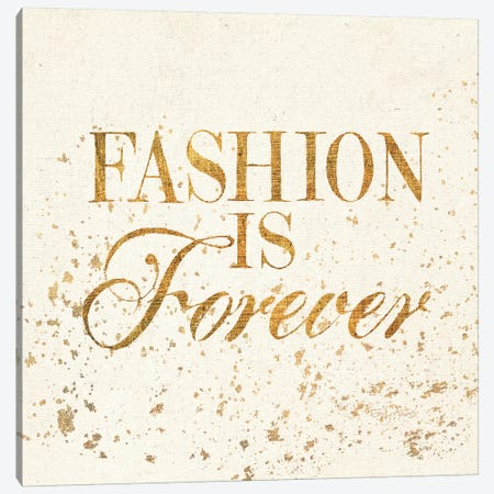 Shoe Fetish Quotes VII Light Canvas Print #WAC3208} by All That Glitters Canvas Art