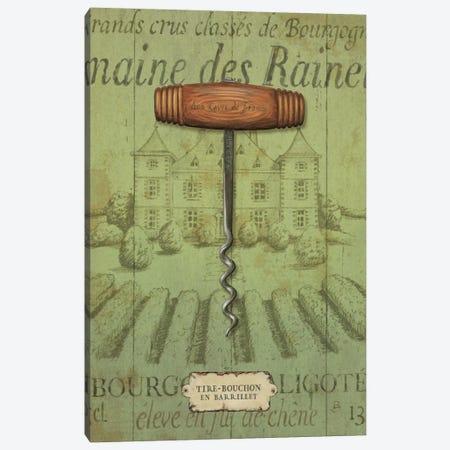 Antique Corkscrew I Canvas Print #WAC320} by Daphne Brissonnet Art Print