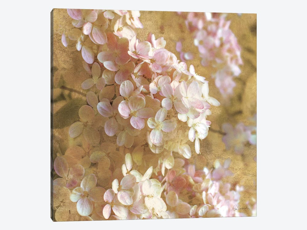 Gilded Hydrangea I by All That Glitters 1-piece Canvas Print