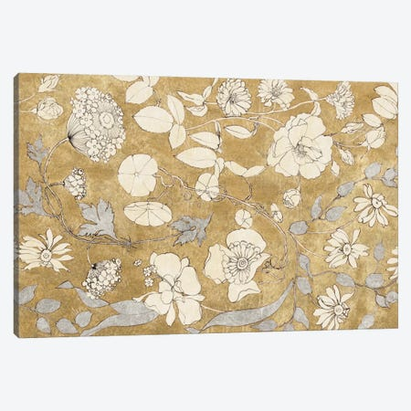 Floral Joy II Canvas Print #WAC3221} by All That Glitters Canvas Art
