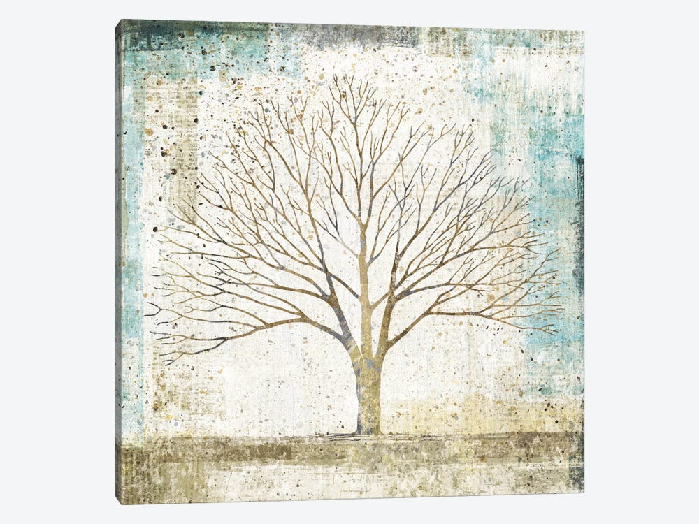 Solitary Tree Collage by All That Glitters 1-piece Art Print