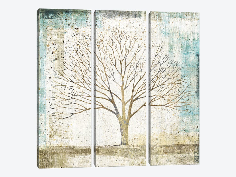 Solitary Tree Collage by All That Glitters 3-piece Canvas Print
