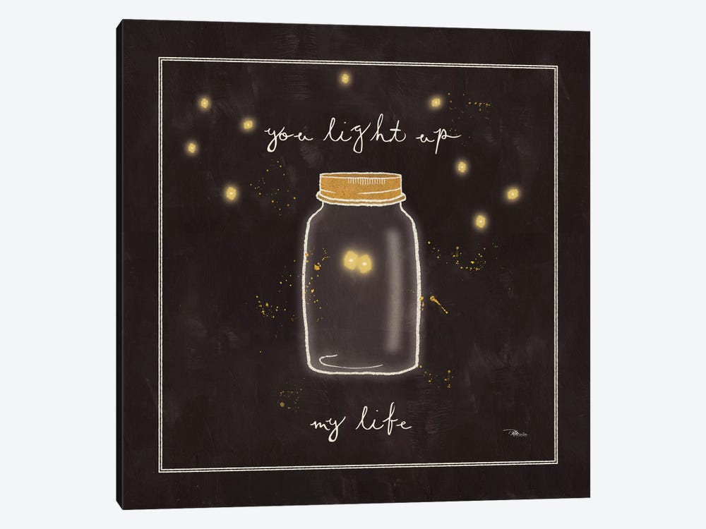 Firefly Glow I by All That Glitters 1-piece Canvas Art