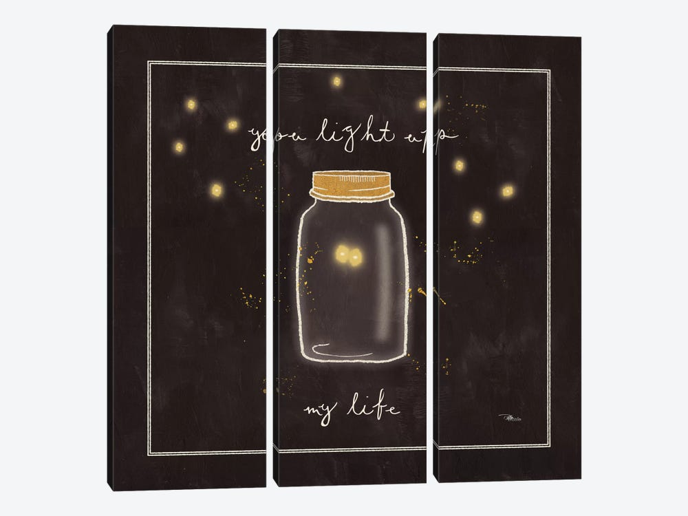 Firefly Glow I by All That Glitters 3-piece Canvas Artwork