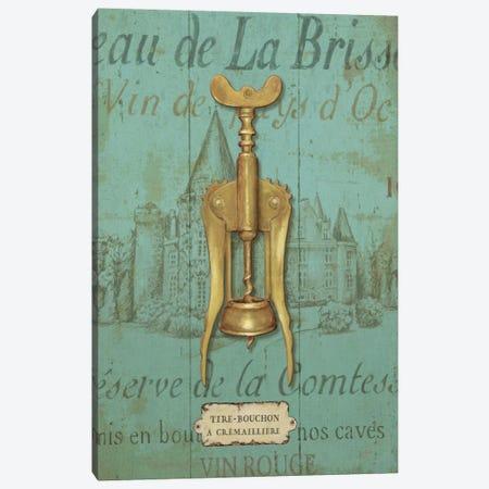Antique Corkscrew III Canvas Print #WAC322} by Daphne Brissonnet Canvas Print
