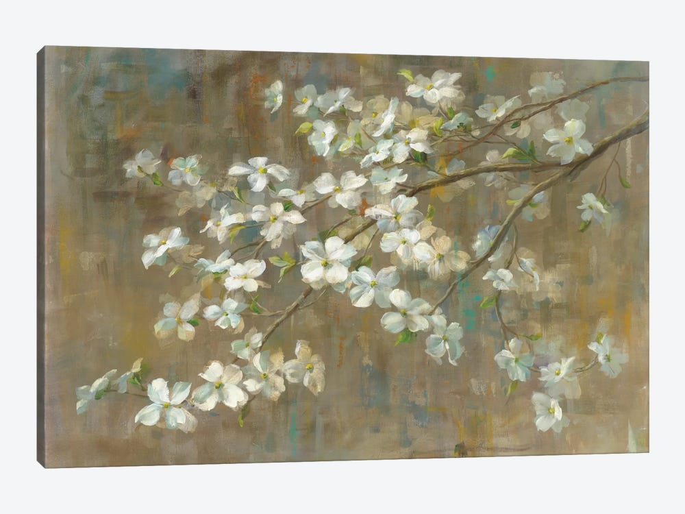 Dogwood in Spring by All That Glitters 1-piece Canvas Print