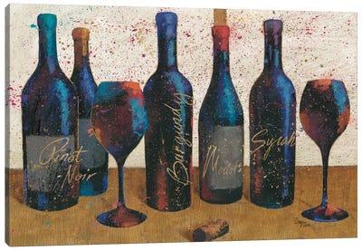 Wine Splash Light I Canvas Art Print
