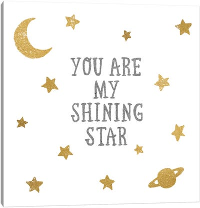 Shining Star Canvas Art Print