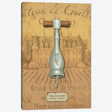 Antique Corkscrew IV Canvas Print #WAC323} by Daphne Brissonnet Canvas Print
