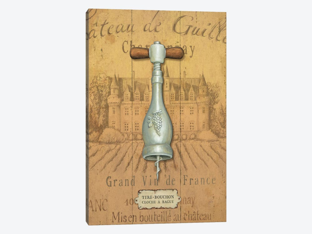 Antique Corkscrew IV by Daphne Brissonnet 1-piece Art Print