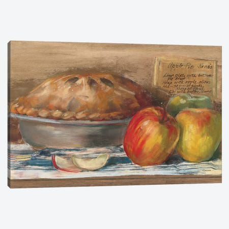 Apple Pie  Canvas Print #WAC3247} by Carol Rowan Canvas Art Print