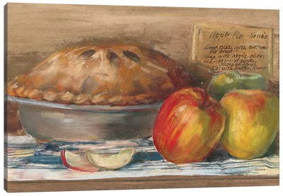 Apple Pie  Canvas Art Print