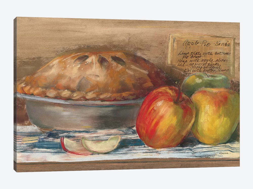 Apple Pie  by Carol Rowan 1-piece Canvas Wall Art