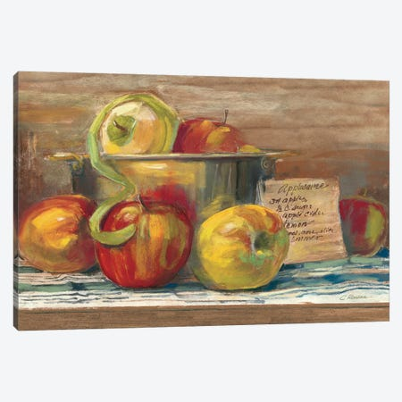 Applesauce Canvas Print #WAC3248} by Carol Rowan Canvas Artwork
