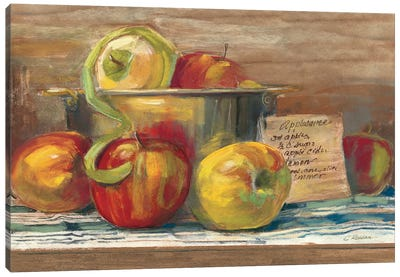 Applesauce Canvas Art Print