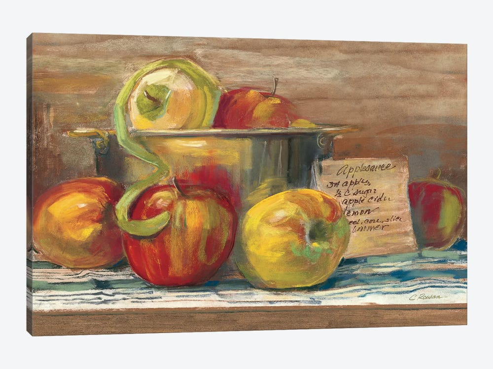 Applesauce by Carol Rowan 1-piece Art Print