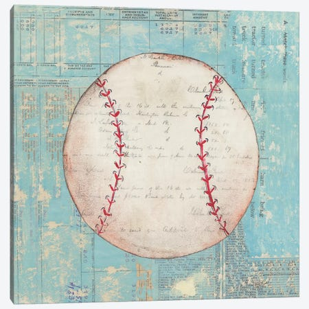 Play Ball I Canvas Print #WAC3249} by Courtney Prahl Canvas Art