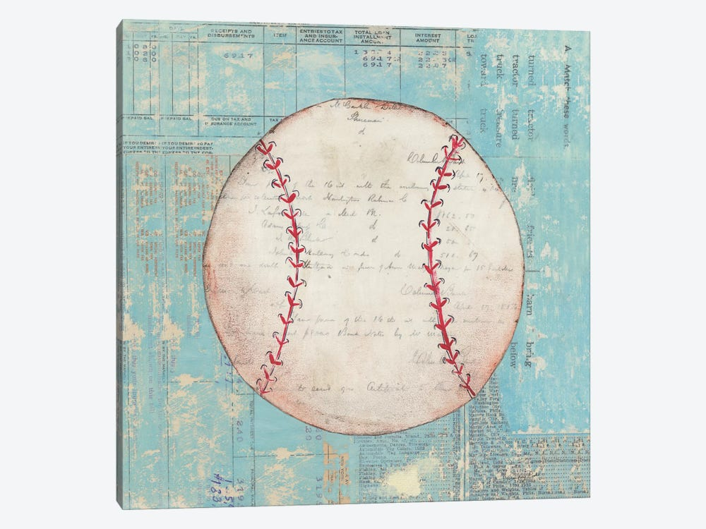 Play Ball I by Courtney Prahl 1-piece Canvas Wall Art