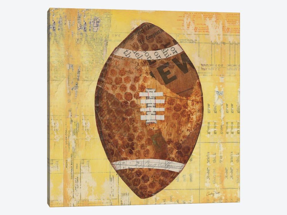 Play Ball II by Courtney Prahl 1-piece Canvas Artwork