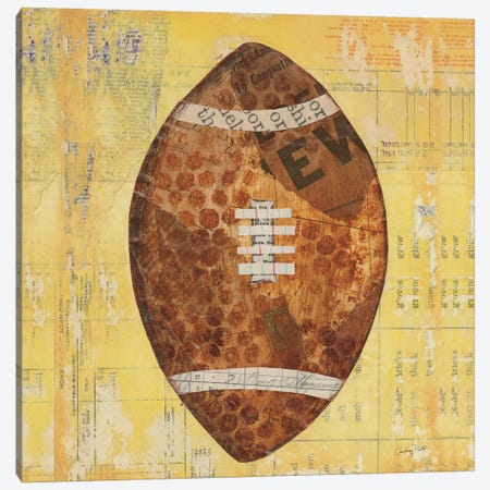 Play Ball II Canvas Print #WAC3250} by Courtney Prahl Art Print