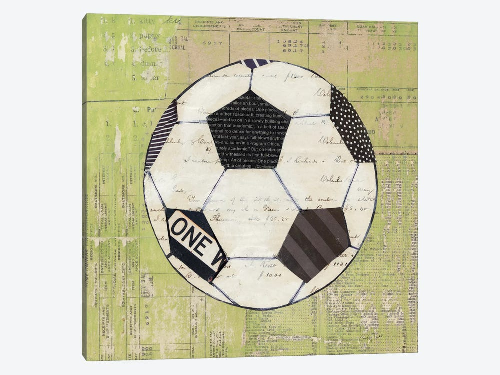 Play Ball III by Courtney Prahl 1-piece Canvas Print